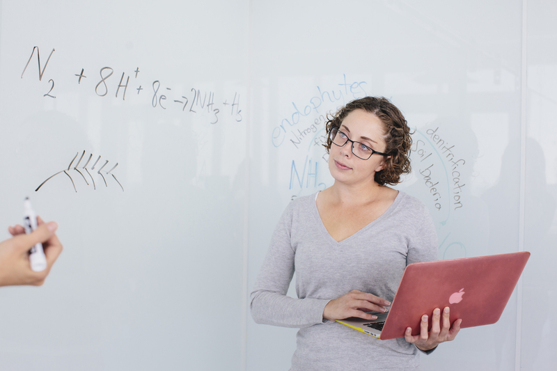 Student at Whiteboard
